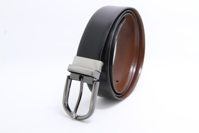 The Clownfish Men Formal Black, Brown Genuine Leather Belt