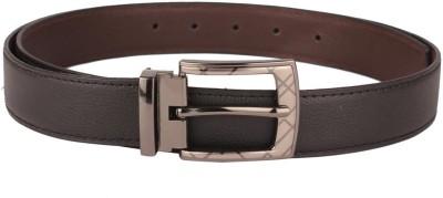 Umda Men Casual Black Artificial Leather Belt