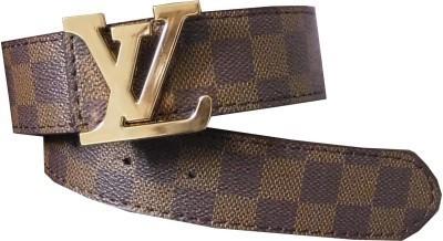 RMX Men, Boys Brown Artificial Leather Belt