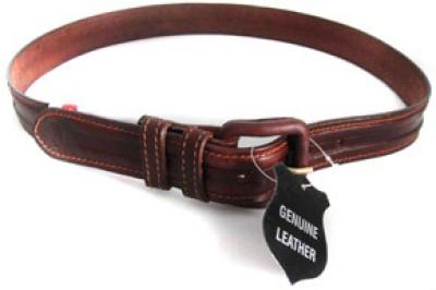 Milano Men Formal Brown Genuine Leather Belt
