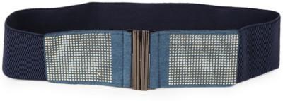 Vinenzia Women Casual Blue Artificial Leather Belt