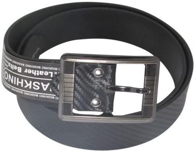 Shilimukh Parrk Men Formal Black Genuine Leather Belt