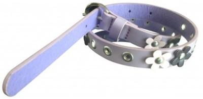 NeedyBee Girls Casual Purple Artificial Leather Belt