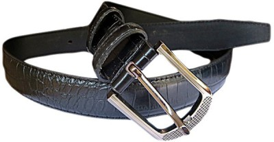 DCS Girls Casual Black Artificial Leather Belt