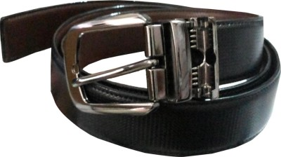 Charlie Men Casual Black Artificial Leather Belt