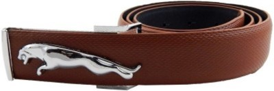 Khushal Men, Boys Casual, Formal, Party, Evening Brown Synthetic Belt