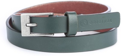 American Swan Women Casual Green Artificial Leather Belt