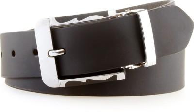 Le Alba Men Black Genuine Leather Belt
