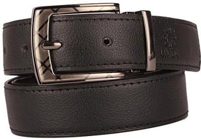 Umda Men Formal Black Synthetic Belt