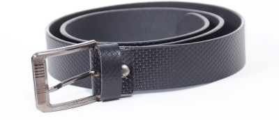 ROYAL ESTILO Men, Boys Formal, Party, Casual, Evening Black Genuine Leather Belt