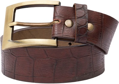 Urban Navy Men Casual Brown Artificial Leather Belt