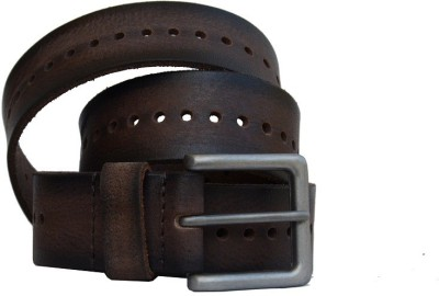 Vickiana Quest Men Casual Brown Genuine Leather Belt