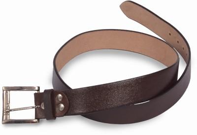 VICTORIA SECRET INDIA Men Casual Brown Artificial Leather Belt