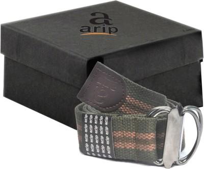 ARIP Boys, Girls, Men, Women Formal Green Canvas Belt