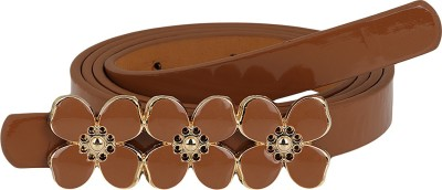 Aadi And Sons Women Casual Brown Artificial Leather Belt