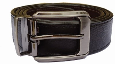 MMS Men Semi-formal Black Synthetic Belt