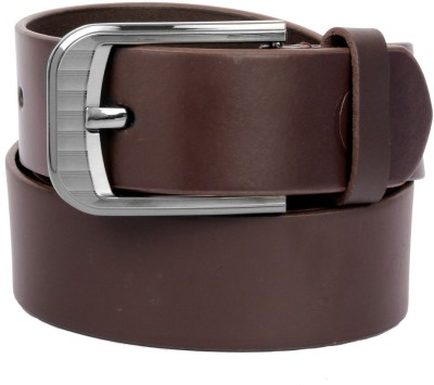 Clayton Men Casual Brown Genuine Leather Belt
