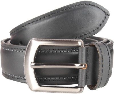Umda Men Casual Black Genuine Leather Belt