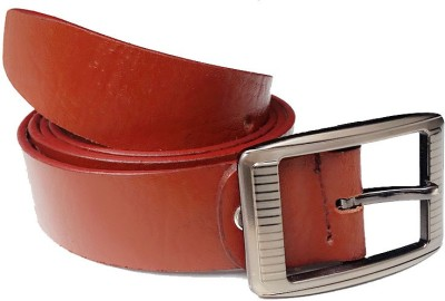 AVS Fashion Boys Casual Brown Genuine Leather Reversible Belt