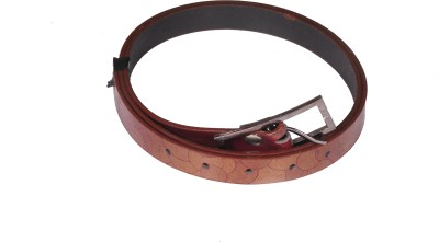 D Jindals Women Casual Brown Synthetic Belt