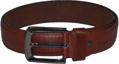 Gen Men Casual Tan Artificial Leather Belt