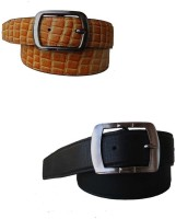 Klaska Men Casual Black Genuine Leather Belt best price on Flipkart @ Rs. 549