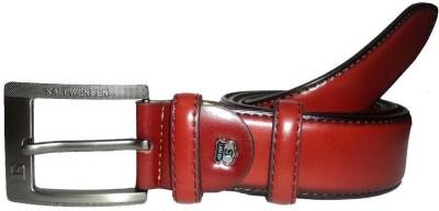 Mode Boys, Men Casual, Formal Red Genuine Leather Belt