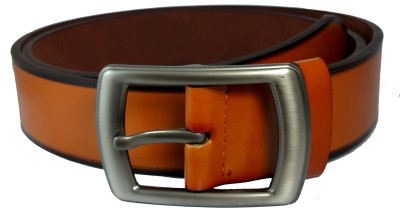 Ammvi Creations Men Casual Orange Synthetic Belt