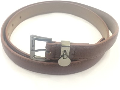 Sir Michele Women Casual Brown Artificial Leather Belt