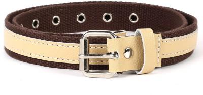 Bluth Women Casual Brown Canvas Belt
