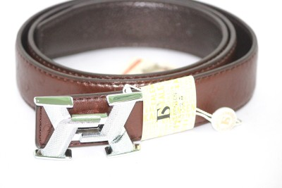 Alarafaat Men Casual Brown Synthetic Belt