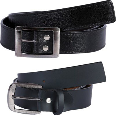 Hardys Men Black Fabric Belt