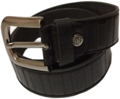 RK International Men Party Brown Genuine Leather Reversible Belt