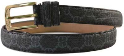 Merastore Women Casual Blue Artificial Leather Belt