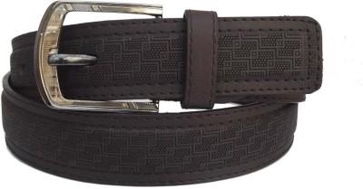 FRONEX INDIA Boys, Men Brown Synthetic Belt