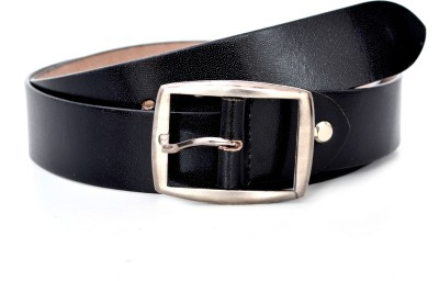 BlueBerryTraders Men Casual Black Genuine Leather Belt