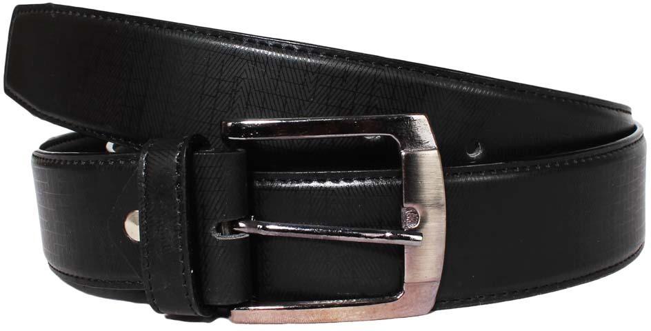 Klaska Men Casual Black Genuine Leather Belt(Black) best price on Flipkart @ Rs. 189