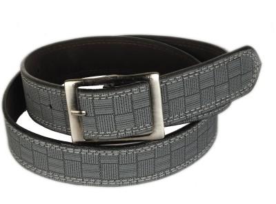 Bs Spy Men Casual Grey Artificial Leather Belt