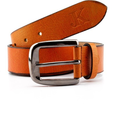 Junckers Men, Boys Formal, Casual, Party, Evening Tan Genuine Leather Belt