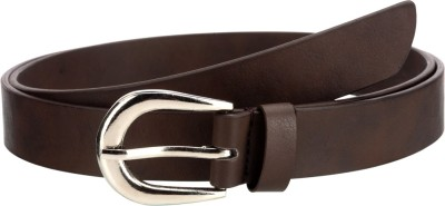 Orkee Women Party Brown Artificial Leather Belt