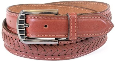 Thayla Men Red Genuine Leather Belt