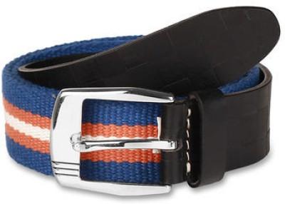 Paradigm Design Lab Men Casual Orange, Blue Genuine Leather Belt
