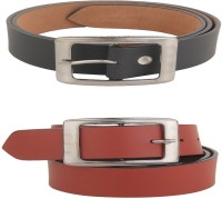 Variety Men Casual Black, Brown Artificial Leather Belt best price on Flipkart @ Rs. 349