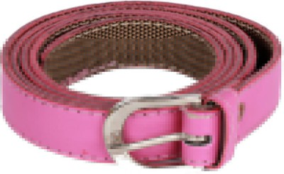 Caricature Clothing Women, Girls Casual Pink Artificial Leather Belt