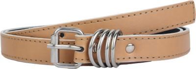 SRS Women Formal Beige Synthetic Belt