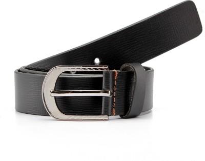 Junckers Men, Boys Formal, Party, Evening Black Genuine Leather Belt