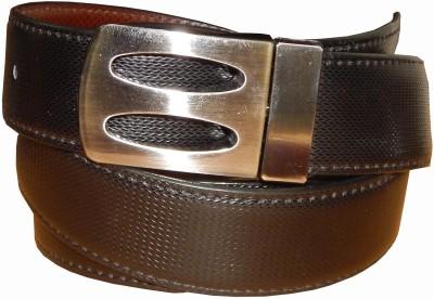 Ansari Men Casual Brown Canvas Belt