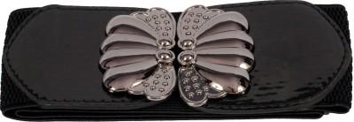 Victoria Secret Women Black Artificial Leather Belt