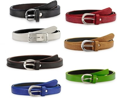 Arum Girls Casual, Formal Multicolor Artificial Leather Belt