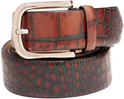 Leather Plus Men Casual Brown Belt